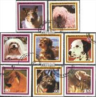 Äquatorialguinea 1427-1434 (kompl.Ausgabe) Gestempelt 1978 Hunde - Equatorial Guinea