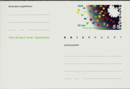 NL.- Briefkaart. Carte Postale. Blanco Onbeschreven. Prins Bernhard Fonds / Anjerfonds. 1990 - 50 Jaar. - Postal Stationery