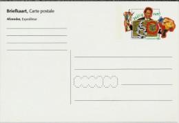 NL.- Briefkaart. Carte Postale. Blanco Onbeschreven. Nederland 1992 Met Zegelbeeld Quizmaster 70 Cent. - Postal Stationery