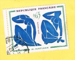 France -Timbre - Henri Matisse - Frankrijk