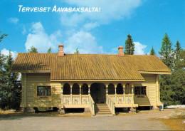 TERVEISET AAVASAKSALTA (Finnland), 1986, Sonderstempel, Format Ca.14,8 X 10,5 - Finnland