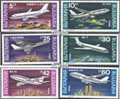 Bulgarien 3858-3863 (kompl.Ausg.) Postfrisch 1990 Flugzeuge - Zonder Classificatie