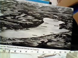 GERMANY Tutzing, Panorama Mit Starnberger See Und Karwendel-Gebirge   VB1958  EQ12828 - Tutzing
