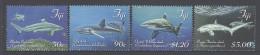 FIJI, 2014,MNH, MARINE LIFE, SHARKS, 4v - Maritiem Leven