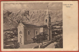 TUCEPI ( Near Makarska ) - Crkva Sv. Ante Tucepi  ( Croatia ) * Travelled , Missing Stamp * By J.B. Obernetter , Munchen - Croatia