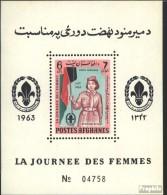 Afghanistan Block48A (kompl.Ausg.) Postfrisch 1964 Tag Der Frau - Afganistán