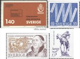 Schweden 891,903,904,905 (kompl.Ausg.) Postfrisch 1975 Sondermarken - Sweden