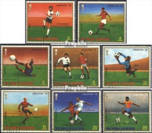 Äquatorialguinea 1153-1160 (kompl.Ausg.) Gestempelt 1977 Fußball-WM ´78, Argentinien - Equatorial Guinea
