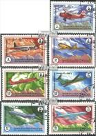 Afghanistan 1353-1359 (kompl.Ausg.) Gestempelt 1984 40 J. Nationale Fluggesellschaft - Afganistán