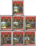 Äquatorialguinea 527-533 (kompl.Ausg.) Gestempelt 1975 Ostern: Gebäude In Jerusalem - Equatorial Guinea