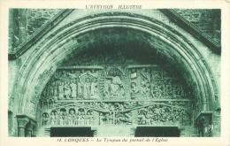 12 - CONQUES - Le Tympan Du Portail De L'Eglise - France