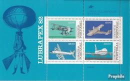 Portugal Block37 (kompl.Ausg.) Postfrisch 1982 Flugzeuge - Blokken & Velletjes