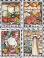 Griechenland 1441-1444 (kompl.Ausg.) Postfrisch 1981 Ausfuhr - Unused Stamps