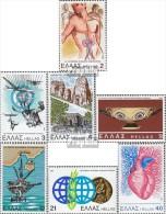 Griechenland 1449,1450,1451,1452, 1453,1454,1455 (kompl.Ausg.) Postfrisch 1981 Sondermarken - Unused Stamps