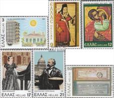 Griechenland 1469,1470,1471,1472, 1473,1474 (kompl.Ausg.) Postfrisch 1981 Denkmalschutz - Unused Stamps