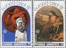 Griechenland 1481-1482 (kompl.Ausg.) Postfrisch 1982 Europa - Unused Stamps