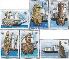 Griechenland 1505-1510 (kompl.Ausg.) Postfrisch 1983 OMI - Unused Stamps