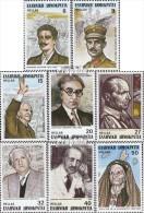 Griechenland 1520-1527 (kompl.Ausg.) Postfrisch 1983 Persönlichkeiten - Unused Stamps