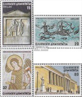 Griechenland 1594-1597 (kompl.Ausg.) Postfrisch 1985 Athen - Unused Stamps