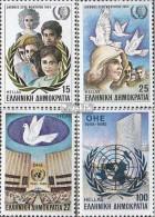 Griechenland 1598-1601 (kompl.Ausg.) Postfrisch 1985 Jugendjahr - Unused Stamps