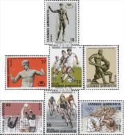 Griechenland 1620-1626 (kompl.Ausg.) Postfrisch 1986 Sport - Unused Stamps