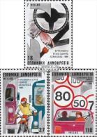 Griechenland 1627-1629 (kompl.Ausg.) Postfrisch 1986 Verkehrssicherheit - Unused Stamps