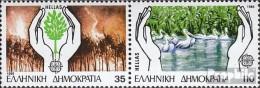 Griechenland 1630A-1631A Paar (kompl.Ausg.) Postfrisch 1986 Europa - Unused Stamps