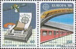Griechenland 1685-1686 Paar (kompl.Ausg.) Postfrisch 1988 Europa - Nuevos