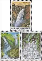 Griechenland 1692A-1694A (kompl.Ausg.) Postfrisch 1988 Wasserfälle - Nuevos