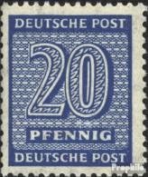 Sowjetische Zone (All.Bes.) 134X Gestempelt 1945 Ziffer - Zona Soviética