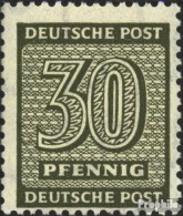 Sowjetische Zone (All.Bes.) 135X B Gestempelt 1945 Ziffer - Zona Soviética