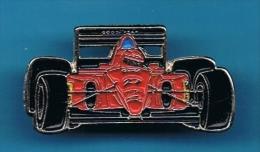 1 PIN'S //  . FÉRRARI F92 A N°27  JEAN ALESI - Ferrari