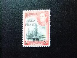 BERMUDA - BERMUDES - 1940 - PORT HAMILTON (surchargë) - Yvert Nº 120 * MH - Bermudas