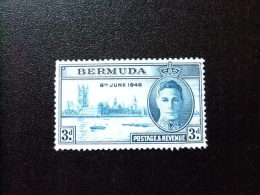 BERMUDA - BERMUDES - 1946 - ANNIVERSAIRE DE LA VICTOIRE - Yvert Nº 122 (*) - Bermudas