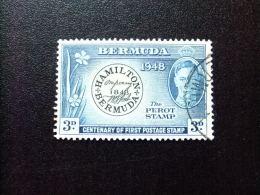 BERMUDA - BERMUDES - 1949 - CENTENAIRE DU PRMIER TIMBRE  - Yvert Nº 126 º FU - Bermudas