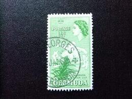 BERMUDA - BERMUDES - 1953-58 - SERIE COURANTE.ELIZABETH II ET SUJETS DIVERS - Yvert Nº 135 º FU - Bermudas