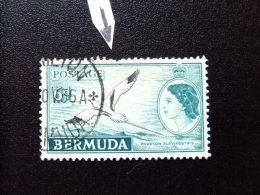 BERMUDA - BERMUDES - 1953-58 - SERIE COURANTE.ELIZABETH II ET SUJETS DIVERS - Yvert Nº 141 º FU - Bermudas