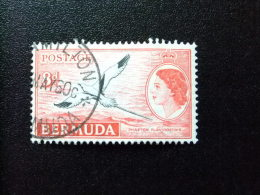 BERMUDA - BERMUDES - 1953-58 - SERIE COURANTE.ELIZABETH II ET SUJETS DIVERS - Yvert Nº 141A º FU - Bermudas