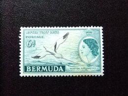 BERMUDA - BERMUDES - 1953-58 - SERIE COURANTE.ELIZABETH II ET SUJETS DIVERS - Yvert Nº 149 * MH - Bermudas