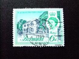 BERMUDA - BERMUDES - 1962-66 - ELIZABETH II ET SUJETS DIVERS DANS UN MÊME CADRE - Yvert Nº 168 º FU - Bermudas