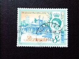 BERMUDA - BERMUDES - 1962-66 - ELIZABETH II ET SUJETS DIVERS DANS UN MÊME CADRE - Yvert Nº 169 º FU - Bermudas