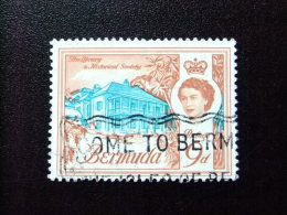 BERMUDA - BERMUDES - 1962-66 - ELIZABETH II ET SUJETS DIVERS DANS UN MÊME CADRE - Yvert Nº 170 º FU - Bermudas