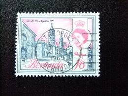 BERMUDA - BERMUDES - 1966 - ELIZABETH II ET SUJETS DIVERS DANS UN MÊME CADRE - Yvert Nº 194A º FU - Bermudas