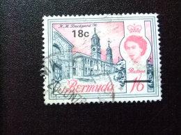 BERMUDA - BERMUDES - 1970 - ELIZABETH II ET SUJETS DIVERS (surchargés En Monnaie Decimale )- Yvert Nº 236 º FU - Bermudas