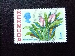 BERMUDA - BERMUDES - 1970 - FLEURS - FLORES  -FLOWERS - Yvert Nº 243 º FU - Bermudas