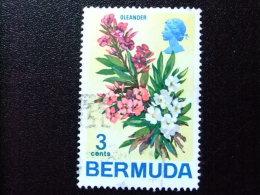 BERMUDA - BERMUDES - 1970 - FLEURS - FLORES  -FLOWERS - Yvert Nº 245 º FU - Bermudas
