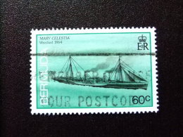 BERMUDA - BERMUDES - 1986 - NAVIRES NAUFRAGÉS (MARY CELESTIA)  - Yvert Nº 478 º FU - Bermudas