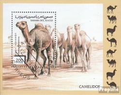 Sahara Ausgabe Der Exilregierung Ohne Gültigkeit Im Int. Postverkehr Gestempelt 1996 Kamele - 1981-84 LS & LSA Prototypes