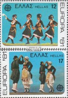Griechenland 1445-1446 (kompl.Ausg.) Postfrisch 1981 Europa - Nuevos