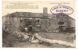 07 - L´Auberge Sanglante De Peyrebeilhe ( Ardèche) - état Actuel ... - éd. Margerit-Brémond N° 840 - Tampon GIBERT - France